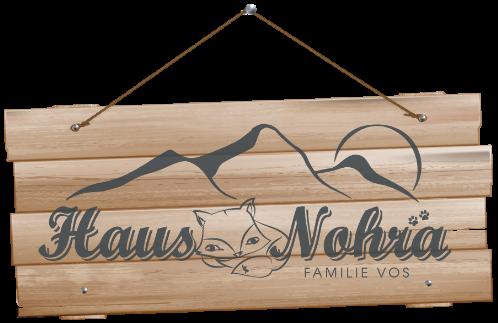Haus Nohra Logo mit Schild